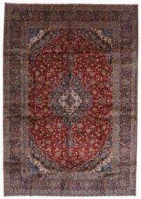 Keshan Matto 288X416 Itämainen Käsinsolmittu Tummanpunainen Isot (Villa, Persia/Iran)