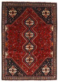 Ghashghai Matto 226X318 Itämainen Käsinsolmittu Tummanpunainen/Tummanruskea (Villa, Persia/Iran)