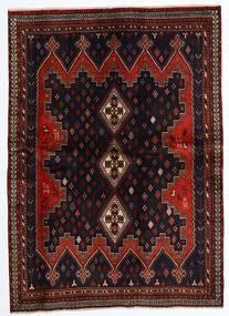 Afshar Matto 174X240 Itämainen Käsinsolmittu Tummanpunainen (Villa, Persia/Iran)