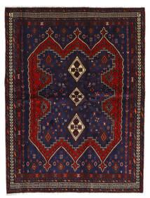 Afshar Matto 175X232 Itämainen Käsinsolmittu Tummansininen/Tummanpunainen (Villa, Persia/Iran)