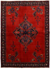 Afshar Matto 166X228 Itämainen Käsinsolmittu Tummanpunainen/Ruoste (Villa, Persia/Iran)