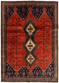 Afshar Matto 176X248 Itämainen Käsinsolmittu Tummanruskea/Ruoste (Villa, Persia/Iran)