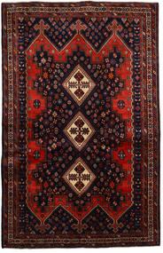 Afshar Matto 167X261 Itämainen Käsinsolmittu Tummanpunainen/Ruoste (Villa, Persia/Iran)