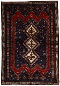Afshar Matto 163X237 Itämainen Käsinsolmittu Tummanpunainen (Villa, Persia/Iran)