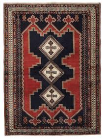 Afshar Matto 177X238 Itämainen Käsinsolmittu Musta/Tummanruskea (Villa, Persia/Iran)