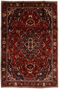 Bakhtiar Matto 207X308 Itämainen Käsinsolmittu Tummanpunainen (Villa, Persia/Iran)