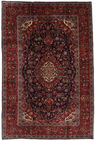 Keshan Matto 204X303 Itämainen Käsinsolmittu Tummanpunainen/Tummanruskea (Villa, Persia/Iran)