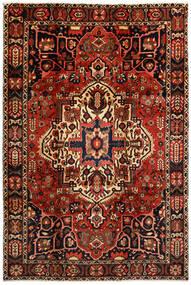 Bakhtiar Matto 214X316 Itämainen Käsinsolmittu Tummanruskea/Tummanpunainen (Villa, Persia/Iran)