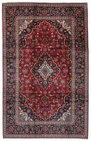 Keshan Matto 198X308 Itämainen Käsinsolmittu Tummanpunainen/Musta (Villa, Persia/Iran)