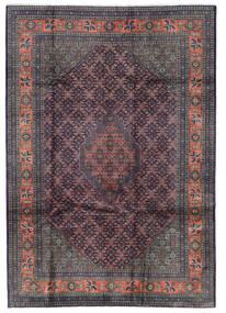 Ardebil Matto 205X291 Itämainen Käsinsolmittu Tummanharmaa/Musta/Tummanruskea (Villa, Persia/Iran)
