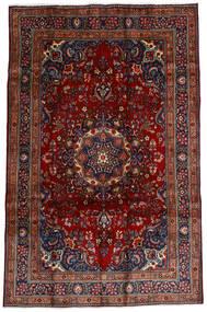 Mashad Matto 191X290 Itämainen Käsinsolmittu Tummanpunainen/Tummanruskea (Villa, Persia/Iran)