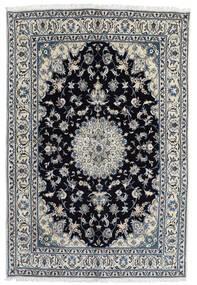Nain Matto 166X248 Itämainen Käsinsolmittu Tummanharmaa/Musta (Villa, Persia/Iran)
