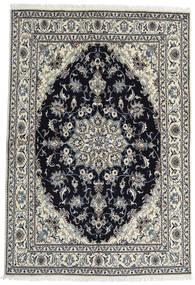 Nain Matto 164X238 Itämainen Käsinsolmittu Tummanharmaa/Musta (Villa, Persia/Iran)