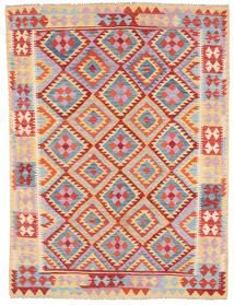 Kelim Afghan Old Style Matto 179X240 Itämainen Käsinkudottu Vaaleanvioletti/Vaaleanruskea (Villa, Afganistan)
