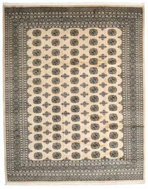 Pakistan Bokhara 2Ply Matto 249X314 Itämainen Käsinsolmittu Tummanharmaa/Beige/Vaaleanharmaa (Villa, Pakistan)