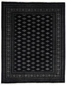 Pakistan Bokhara 3Ply Matto 244X312 Itämainen Käsinsolmittu Musta/Tummanharmaa (Villa, Pakistan)