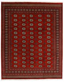 Pakistan Bokhara 2Ply Matto 247X308 Itämainen Käsinsolmittu Tummanpunainen/Punainen (Villa, Pakistan)