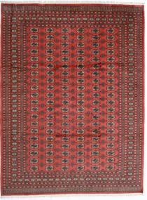Pakistan Bokhara 2Ply Matto 246X325 Itämainen Käsinsolmittu Tummanpunainen/Ruoste (Villa, Pakistan)