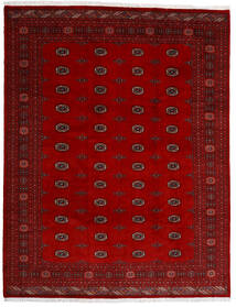 Pakistan Bokhara 3Ply Matto 247X318 Itämainen Käsinsolmittu Tummanpunainen/Punainen (Villa, Pakistan)