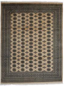 Pakistan Bokhara 2Ply Matto 245X319 Itämainen Käsinsolmittu Tummanharmaa/Vaaleanharmaa (Villa, Pakistan)