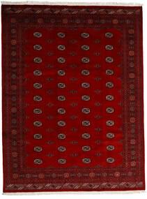 Pakistan Bokhara 3Ply Matto 247X319 Itämainen Käsinsolmittu Tummanpunainen/Punainen/Tummanruskea (Villa, Pakistan)