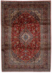 Keshan Matto 252X355 Itämainen Käsinsolmittu Tummanpunainen/Tummanharmaa Isot (Villa, Persia/Iran)
