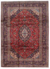 Keshan Matto 248X332 Itämainen Käsinsolmittu Tummanpunainen/Tummanruskea (Villa, Persia/Iran)