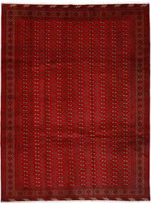 Turkaman Matto 252X337 Itämainen Käsinsolmittu Punainen/Ruoste Isot (Villa, Persia/Iran)
