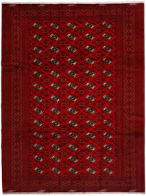 Turkaman Matto 258X344 Itämainen Käsinsolmittu Punainen/Tummanpunainen/Tummanruskea Isot (Villa, Persia/Iran)