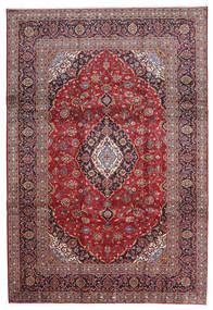 Keshan Matto 240X343 Itämainen Käsinsolmittu Tummanpunainen/Vaaleanvioletti (Villa, Persia/Iran)