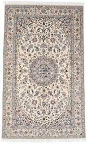 Nain 9La Matto 153X249 Itämainen Käsinsolmittu Vaaleanharmaa/Beige (Villa/Silkki, Persia/Iran)