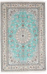 Nain 9La Matto 157X244 Itämainen Käsinsolmittu Vaaleanharmaa/Valkoinen/Creme (Villa/Silkki, Persia/Iran)