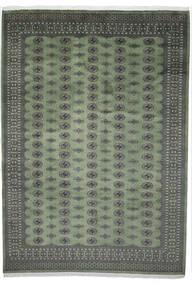 Pakistan Bokhara 2Ply Matto 251X352 Itämainen Käsinsolmittu Tummanharmaa/Tummanvihreä Isot (Villa, Pakistan)