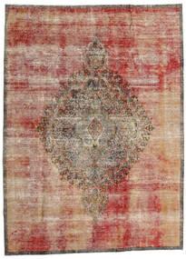 Vintage Heritage Matto 216X293 Moderni Käsinsolmittu Vaaleanruskea/Tummanpunainen (Villa, Persia/Iran)