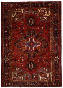 Heriz Matto 240X337 Itämainen Käsinsolmittu Tummanpunainen/Punainen (Villa, Persia/Iran)