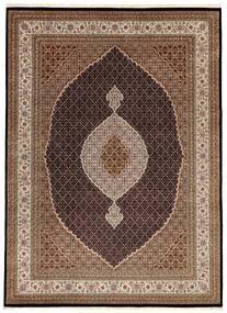 Tabriz Royal Matto 254X349 Itämainen Käsinsolmittu Ruskea/Tummanruskea Isot ( Intia)