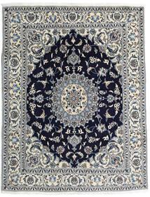Nain Matto 193X245 Itämainen Käsinsolmittu Beige/Tummanvioletti (Villa, Persia/Iran)