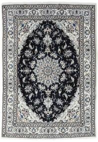 Nain Matto 170X245 Itämainen Käsinsolmittu Vaaleanharmaa/Tummanharmaa/Musta (Villa, Persia/Iran)