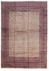 Sarough Mir Matto 268X387 Itämainen Käsinsolmittu Tummanruskea/Beige Isot (Villa, Persia/Iran)