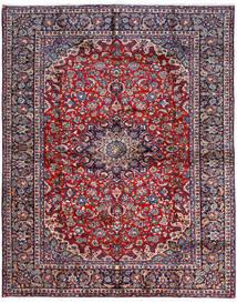 Najafabad Matto 300X381 Itämainen Käsinsolmittu Tummanvioletti/Tummanharmaa Isot (Villa, Persia/Iran)
