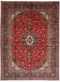 Keshan Matto 294X396 Itämainen Käsinsolmittu Tummanpunainen/Tummanruskea Isot (Villa, Persia/Iran)