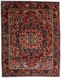 Bakhtiar Matto 303X390 Itämainen Käsinsolmittu Tummanpunainen Isot (Villa, Persia/Iran)