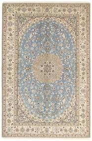 Nain 9La Matto 158X245 Itämainen Käsinsolmittu Vaaleanharmaa/Beige (Villa/Silkki, Persia/Iran)