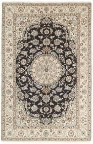 Nain 9La Matto 154X243 Itämainen Käsinsolmittu Vaaleanharmaa/Beige (Villa/Silkki, Persia/Iran)