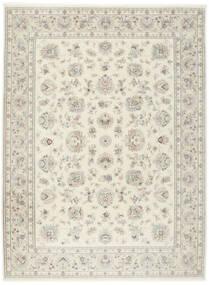 Tabriz 50 Raj Silkillä Matto 255X345 Itämainen Käsinsolmittu Vaaleanharmaa/Beige Isot (Villa/Silkki, Persia/Iran)