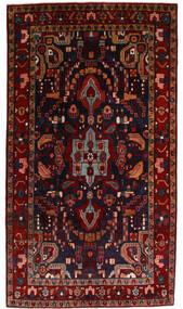 Nahavand Matto 142X255 Itämainen Käsinsolmittu Tummanpunainen (Villa, Persia/Iran)
