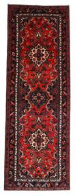 Hamadan Matto 112X314 Itämainen Käsinsolmittu Käytävämatto Tummanpunainen/Ruoste (Villa, Persia/Iran)