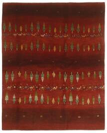 Gabbeh Persia Matto 203X256 Moderni Käsinsolmittu Musta/Tummanpunainen (Villa, Persia/Iran)