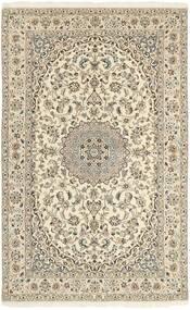 Nain 9La Matto 152X248 Itämainen Käsinsolmittu Beige/Vaaleanharmaa (Villa/Silkki, Persia/Iran)