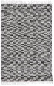 Chinara - Musta/Valkoinen Matto 140X200 Moderni Käsinkudottu Vaaleanharmaa/Tummanharmaa/Tummanruskea (Villa, Intia)